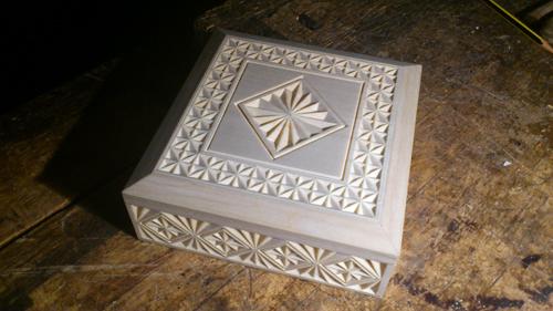 шкатулка четырёхугольная